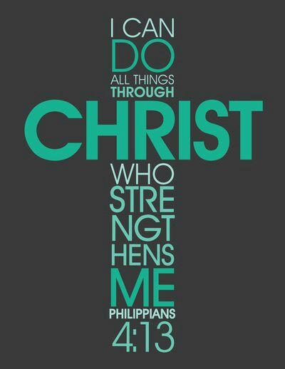 Christ Who Strengthens Us...